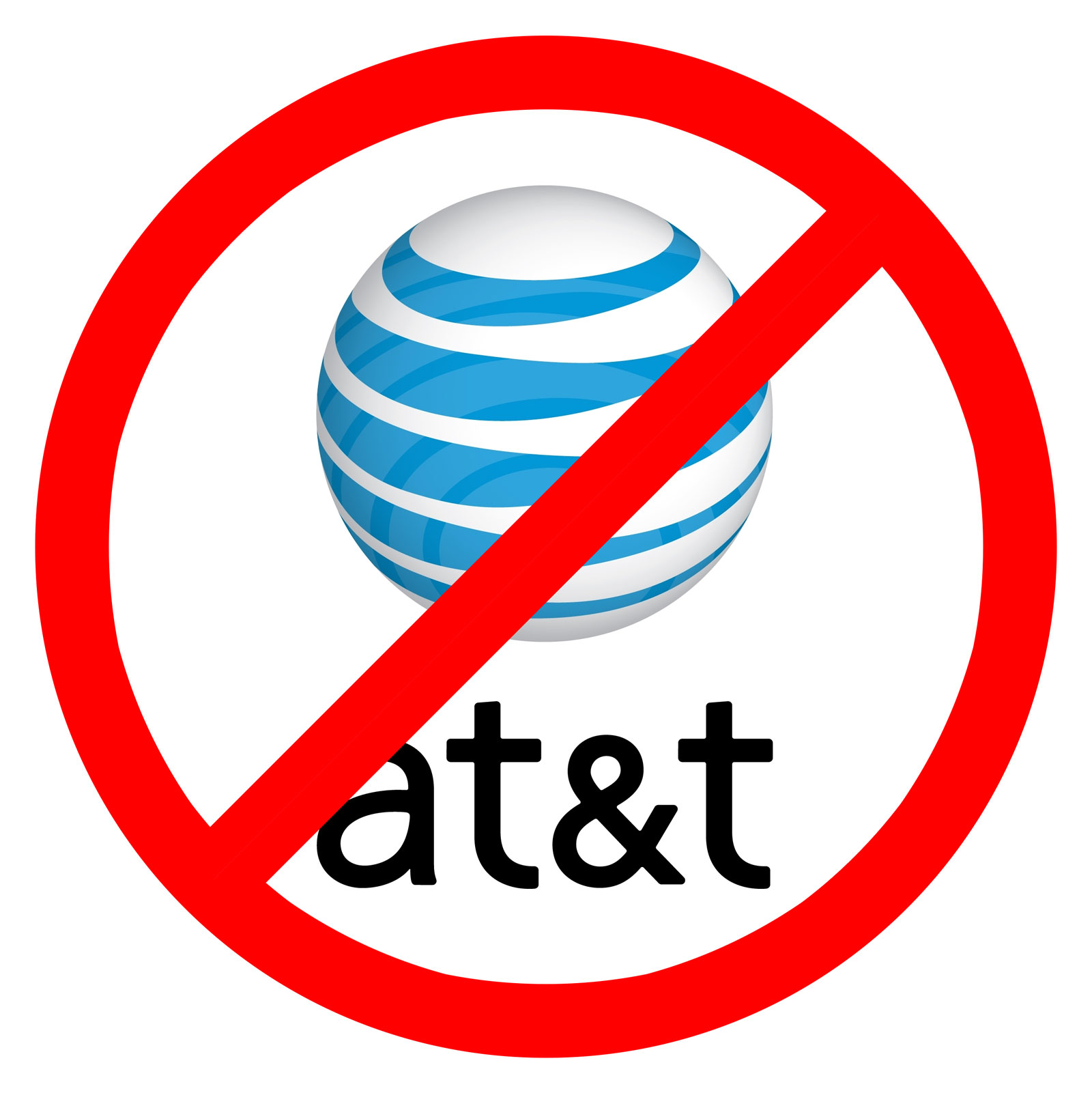 No to AT&amp;T